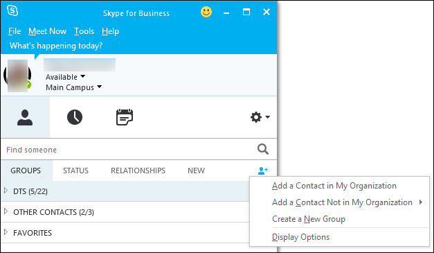 how to add skype contacty